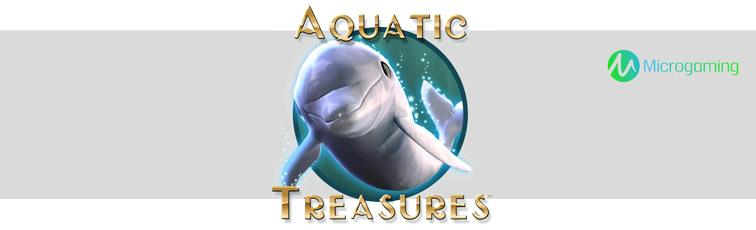 aquatic treasure microgaming machine à sous